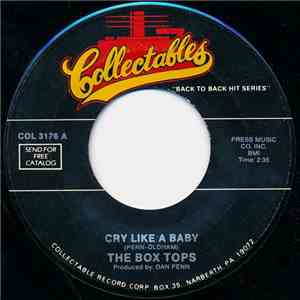 The Box Tops - Cry Like A Baby / Soul Deep download free