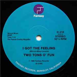 Two Tons O' Fun / Slick  - I Got The Feeling / Space Bass download free